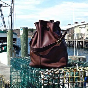 🐴Vintage Coach, Legacy XL Drawstring Bag
